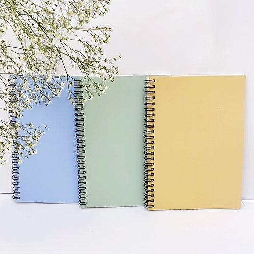 Pastel Notebooks