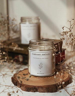 Caramel Brûlée Candle