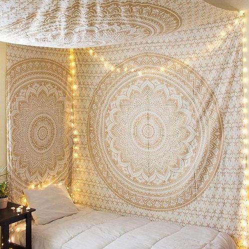 Brown Ombré Mandala Tapestry