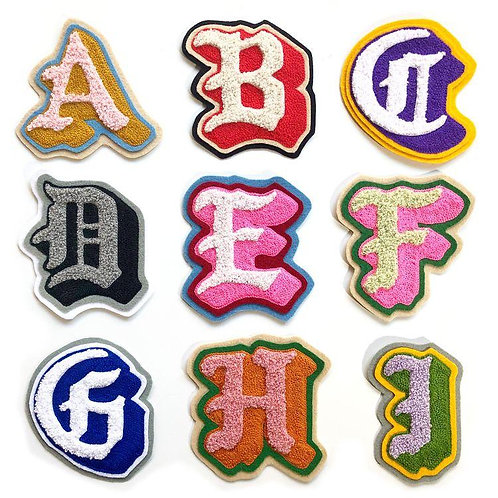 Gothic Alphabet Rug