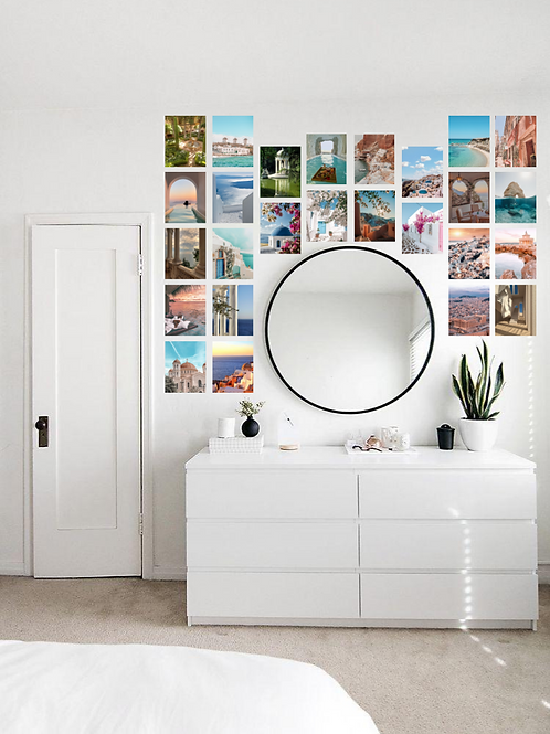 Greece Wall Collage