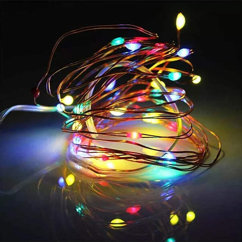 Wire LED String Lights