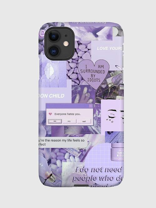 Lavender Collage Case