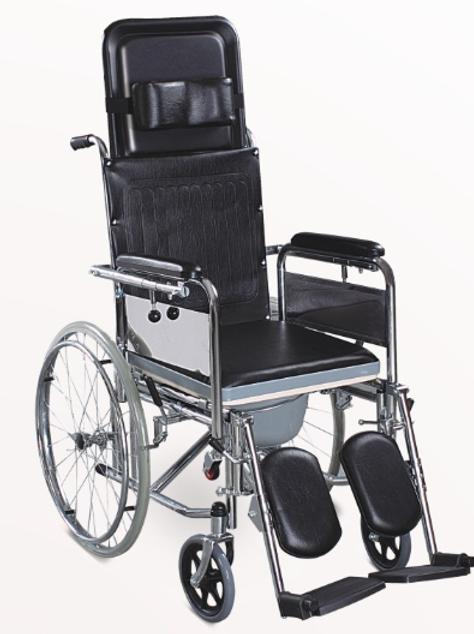 Wheelchair (Commode & Sleeping)