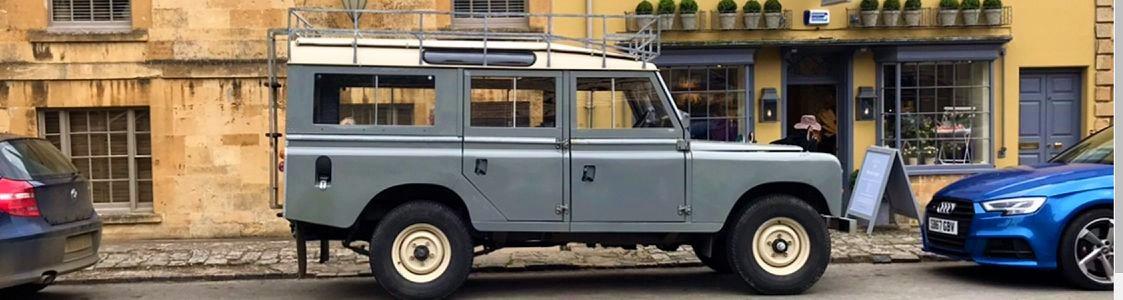 Land Rover Grey