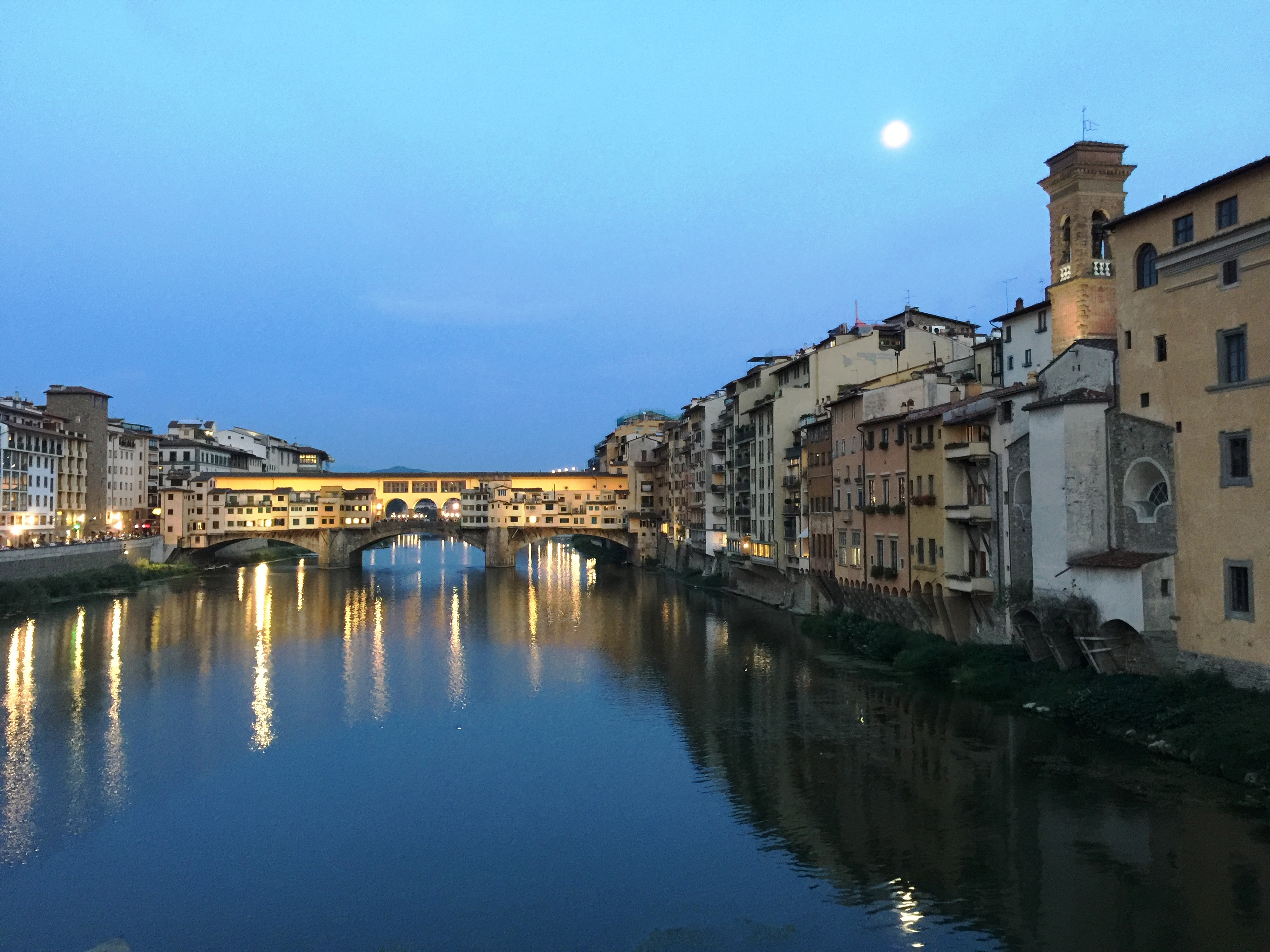 Florence Night Bridge Tom