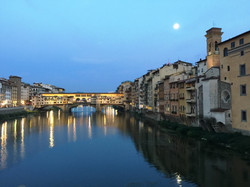 Florence Night Bridge Tom
