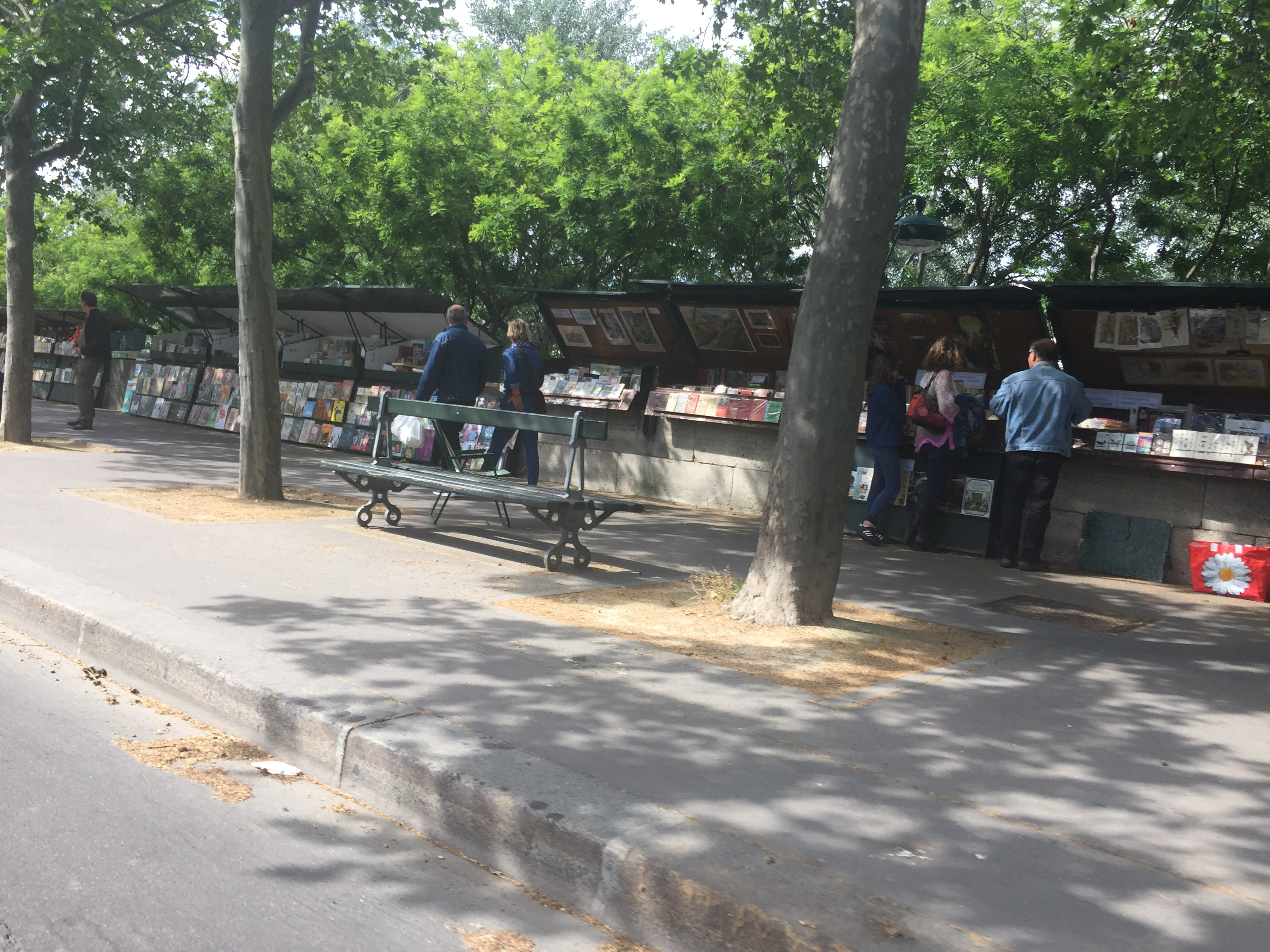 Paris - Book Stalls - Tom