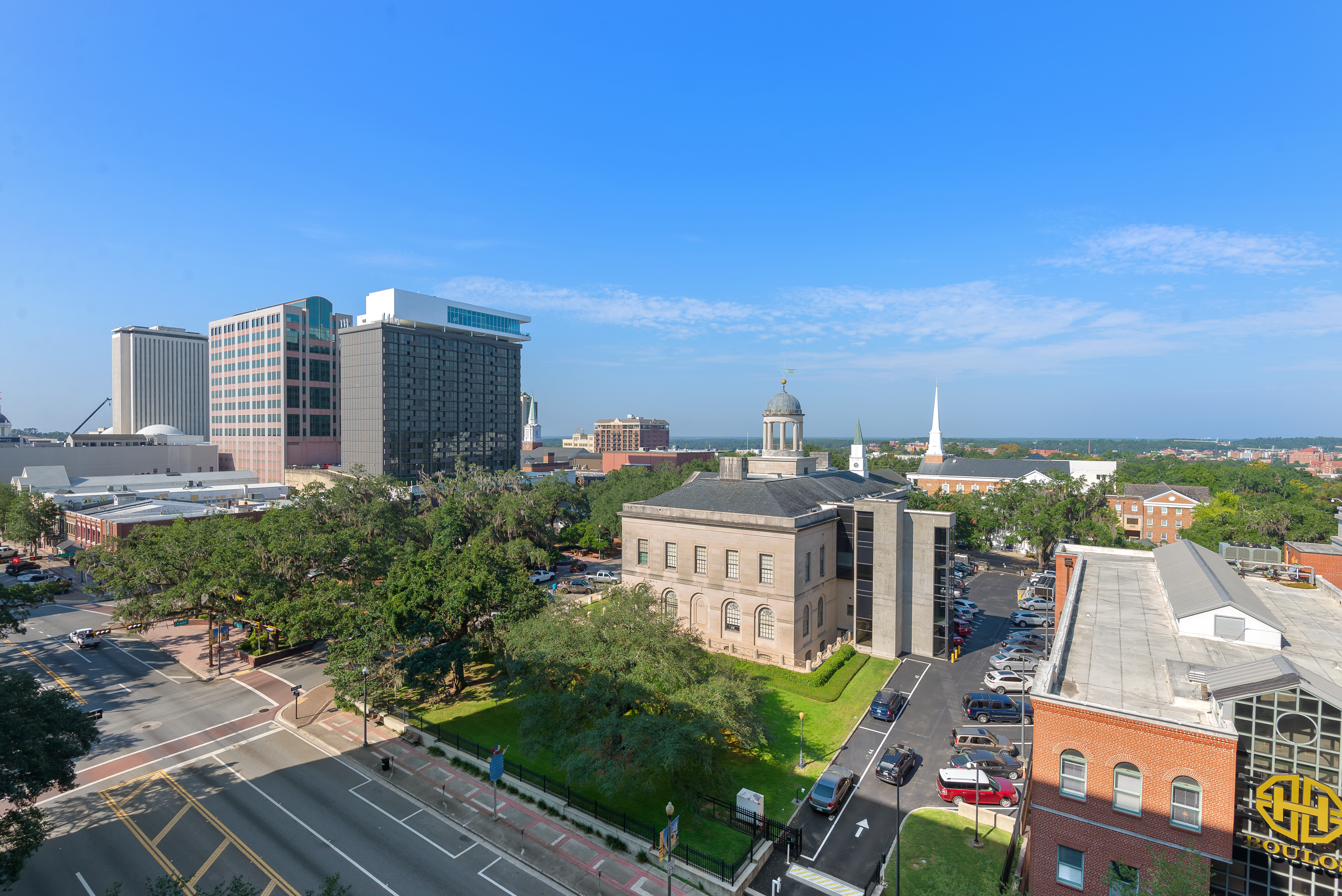 skyline of downtown Tallahassee