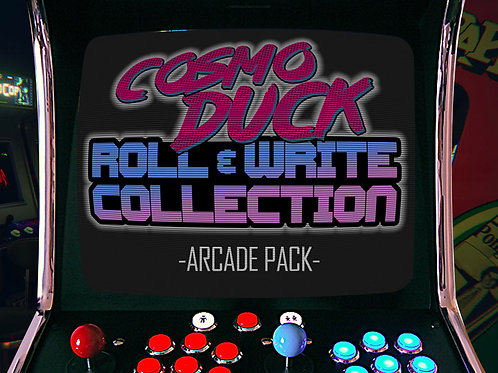 ARCADE PACK - Roll & Write Collection Vol.2