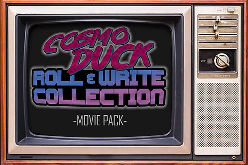 MOVIE PACK - Roll & Write Collection Vol.1