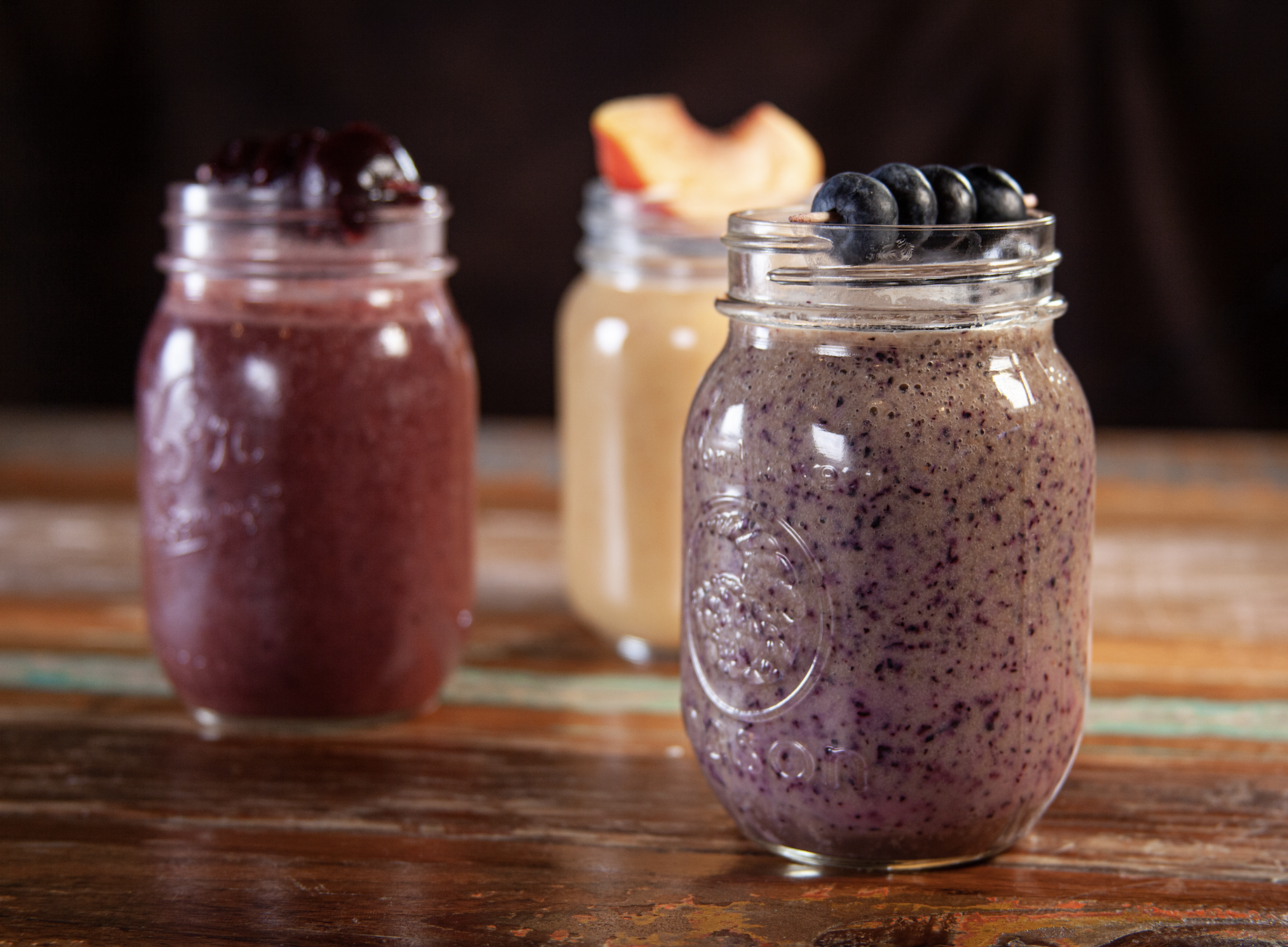 Back to School Blueberry Mango Smoothie