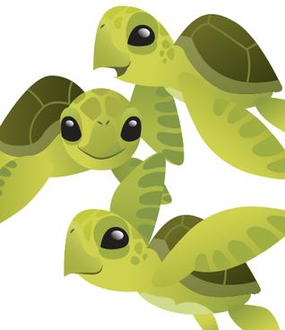 Social Distancing Applies To Sea Turtles