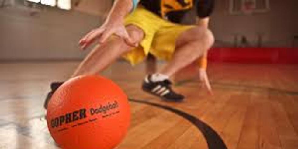 1E - Dodgeball for 8-11