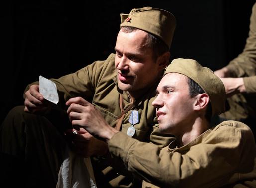 Спектакль «Третья ракета» открыл проект ГИТИСа «По дорогам фронтовых театров»