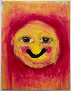 blush smile with eyes