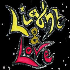 Light & Love (2020) felt tip on paper
