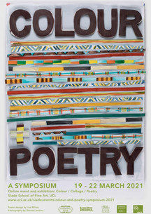 UCL Slade Colour & Poetry Symposium
