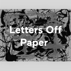 Talking overlove on Letters off Paper