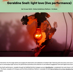 light love (live performance)