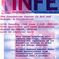 Presenting ' What is foundation 'for'? at The Foundation Course in Art and Design: A Celebration