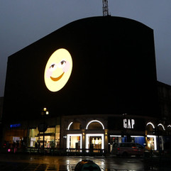 Smile (2020) on Piccadilly Lights