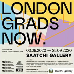 Exhibiting a work in this graduate showcase at the Saatchi