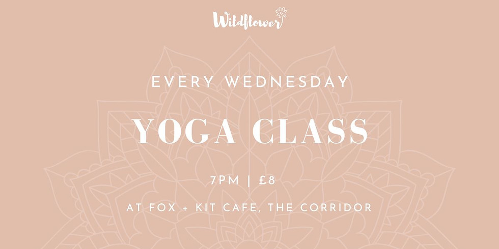 Yoga class with Wildflower Yoga Therapy