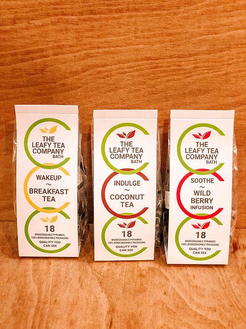 Leafy Tea Company teas