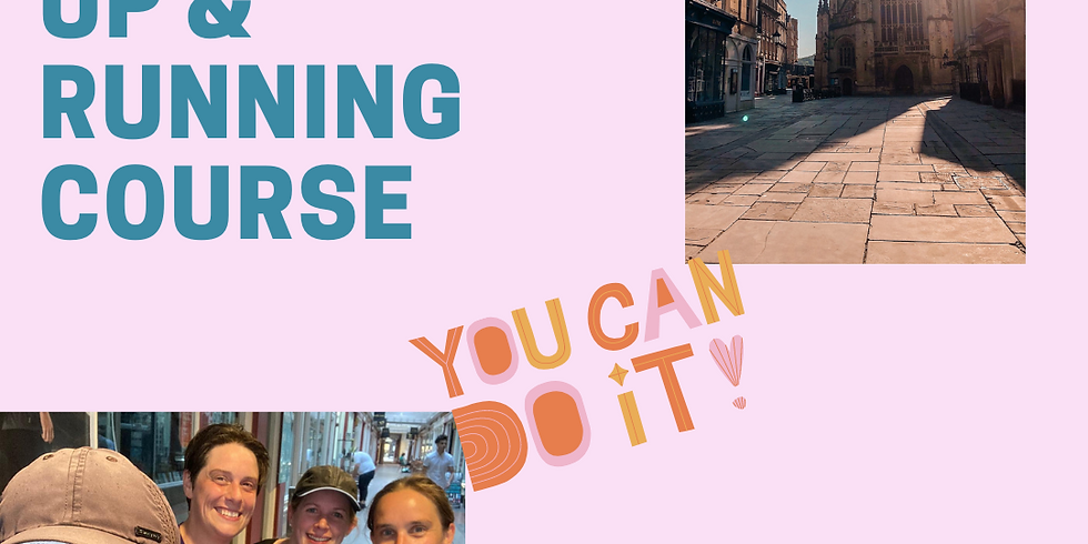 Up & Running couch to 5k-style Beginner's Running Course