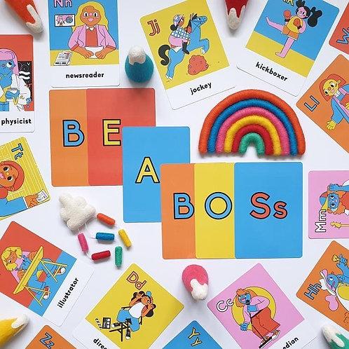 Boss Babs GALphabet flashcards