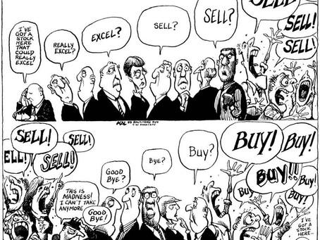 Euforia, histeria y pánico: La psicología de los inversores cuando se aproxima un crack financiero.