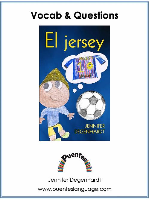 Vocabulary & Questions & Activities: El jersey