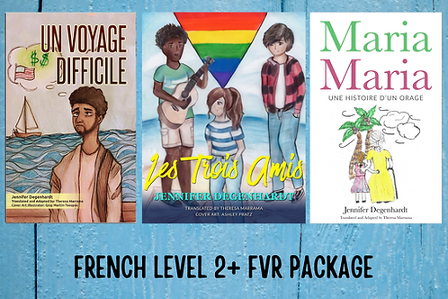 FRENCH LEVEL 2+ FVR PACKAGE