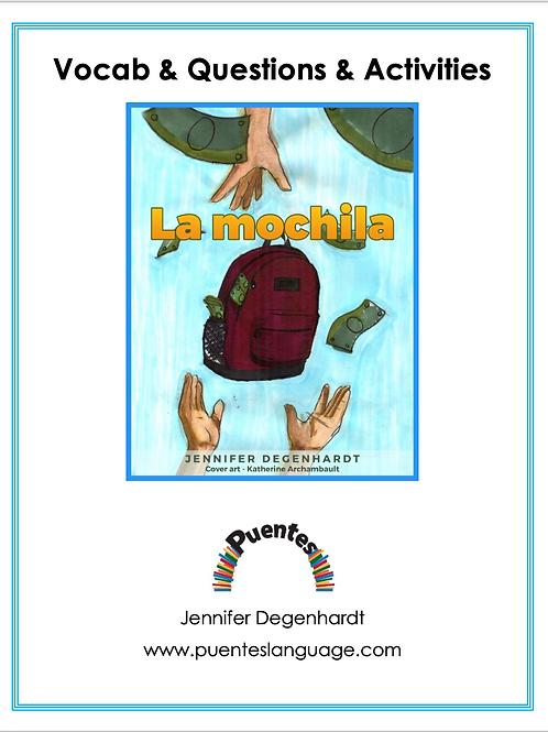 La mochila: Vocabulary, Questions & Activities: