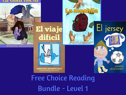 Free Choice Reading Bundle - Level 1