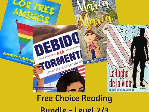 Free Choice Reading Bundle - Level 2/3