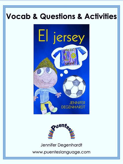 El jersey: Vocabulary, Questions & Activities: