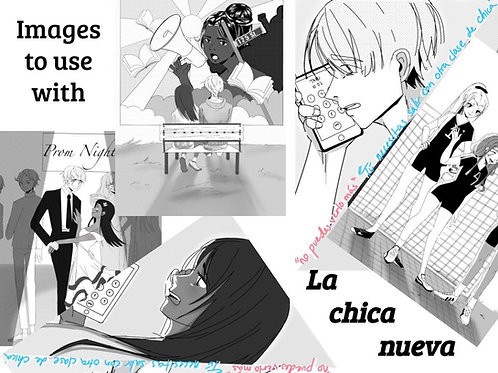 Images to use with La chica nueva