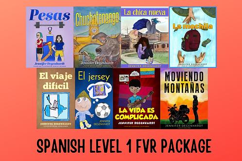 SPANISH LEVEL 1 FVR PACKAGE