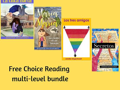 Free Choice Reading Multilevel Bundle - Levels 1 - 4