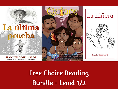 Free Choice Reading Bundle - Level1/2