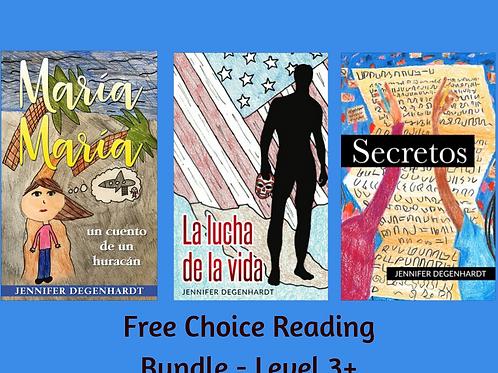 Free Choice Reading Bundle - Level 3+