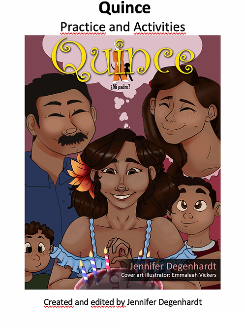 Vocabulary & Questions & Activities: Quince