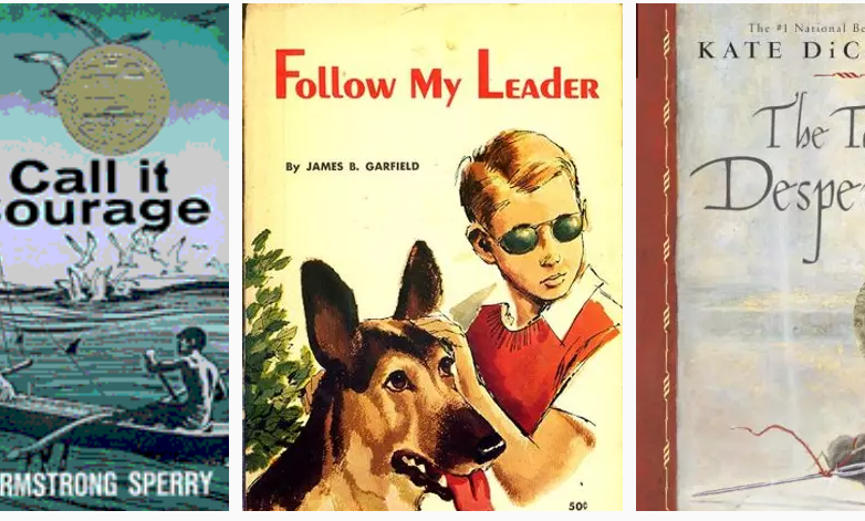 Call it Courage Follow my leader the tale of desperaux book covers literature homeschool curriculum literature class online