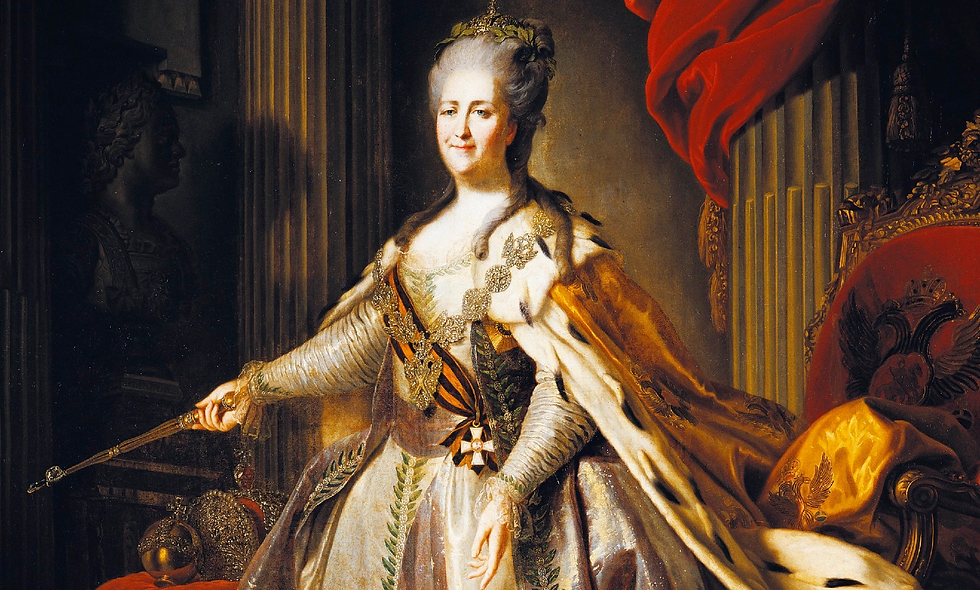 catherine the great american revolution captain cook History online class for kids virtual school learning education