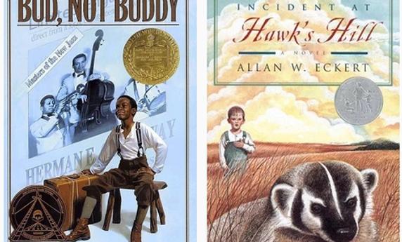 bud not buddy and adventure on hawk's hill book covers literature homeschool curriculum literature online class literature