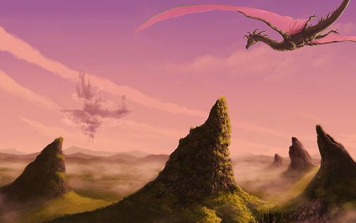 castle-drawing-islands-view-dragons-citi