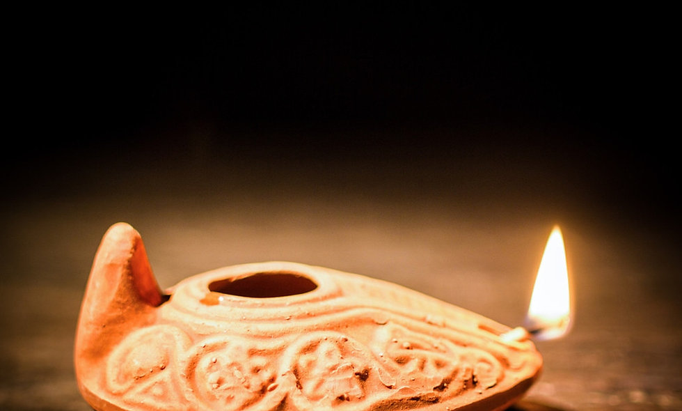 Design an Ancient Roman Oil Lamp