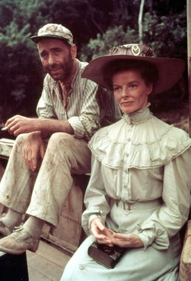 The African Queen with Katherine Hepburn